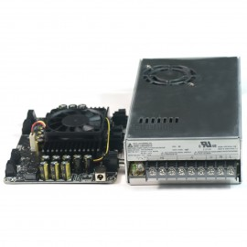 4 X 100W Class D Audio Amplifier STA508 w Delta 24V 350W PMT Power Supply