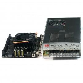 6 X 100W Class D Audio Amplifier TDA7498 w Mean Well 36V 350W Power Supply