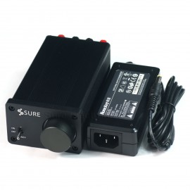 2 X 15 Watt Class D Audio Amplifier TA2024 w Huntkey 12V 60W Power Adapter (for Gaming Kiosks)