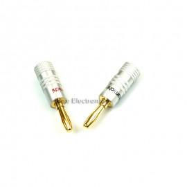 10pcs Accessories Banana Plug 10pcs speaker connector