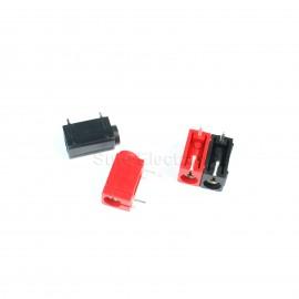 12pcs 4mm PCB Banana Socket Angled panel socket black red