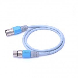 1.5m/2m VenTion HIFI XLR Male to Female Stereo Plug Balanced Cable Ice Blue