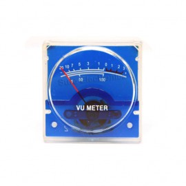 FlashStar SD-306R Panel VU Meter 500uA 650Ω 40x40mm with Backlight