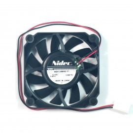 50pcs Nidec M60R12MMAB-51 DC Axial Fow Fans 12V 0.08A 3Pin 60x60x15mm Black