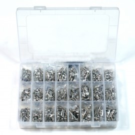 Imperial 6#-32 Stainless Steel Screw Kit 24kinds Length 1/4 5/16 3/8 1/2 5/8 3/4
