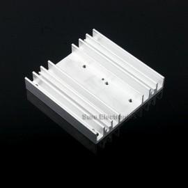 3x3inch Aluminum Alloy Heat Sink for 1W/3W/5W/10W LED Silver White