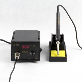 937D SMD 220V Solder Soldering Iron Station Welding SMD Tool 5 Tips Stand ESD