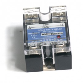 Solid State Relay SR-1 DD220 D10 10A/24-220VDC 3-32VDC