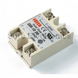 Solid State Relay SSR-10DD 10A/5-60VDC 3-32VDC