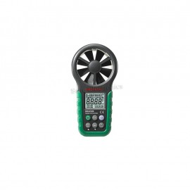 MASTECH MS6252B Digital Anemometer T&RH Sensor Air Wind Speed Velocity Meter