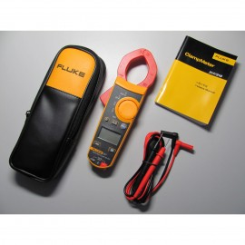 Fluke F317 Digital Clamp Meter Multimeter Volt Amp REL True RMS w/