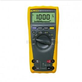 Fluke 179 True RMS Digital Multimeter (DMM) w 80BK Temperature Probe 1000V 10A
