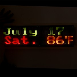 3216 Bicolor Red & Green LED 5mm Dot Matrix Display Information Display Board