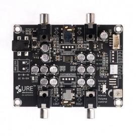 2 X 440mW Headphone Amplifier Board with Electronic Volume - NJM2777
