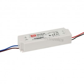 MW Mean Well LPV-35-24 LED Driver 36W 24V IP67 Power Supply Waterproof