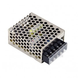 MeanWell Switching Power Supply RS-15-24 24V 0.63A 15W AC100~240V 62.5x51x28mm