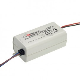 Mean Well APV-12-24 24V 0.5A Power Supply LED Driver Water & Dust-proof