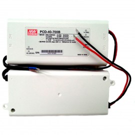 Mean Well PCD-40-700B 40W 700mA Power Supply LED Driver Water & Dust-proof