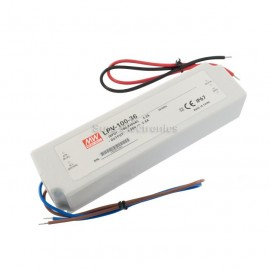 Mean Well LPV-100-36 100W 36V 2.8A Power Supply LED Driver Water & Dust-proof