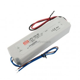 Mean Well LPV-100-48 100W 48V 2.1A Power Supply LED Driver Water & Dust-proof