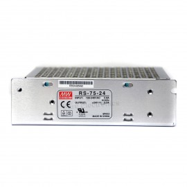 Mean Well RS-75-12 AC/DC Single Output Switching Power Supply 12V 6A 75W