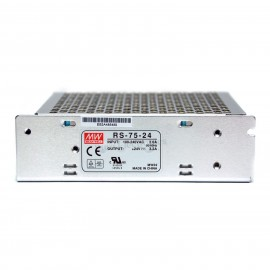 Mean Well RS-75-24 AC/DC Single Output Switching Power Supply 24V 3.2A 75W