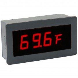"0.56"" Digital Red LED Automobile Thermometer Panel Meter Two External Probes"