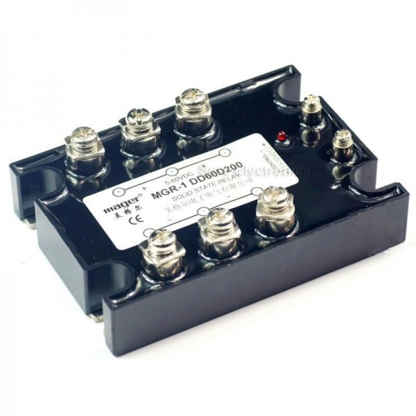 Sure Electronics Webstore Solid State Relay SSR1 DD60D200 200A5 - Solid State Relay Low Current