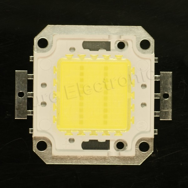 2pcs 20W Watt Warm White 45mil Chips High Power LED Light SMD Panel 32~34V Lamp
