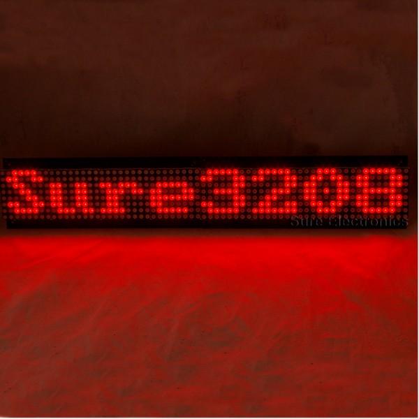Sure Electronics' webstore P7 62 32X8 Red LED Dot Matrix