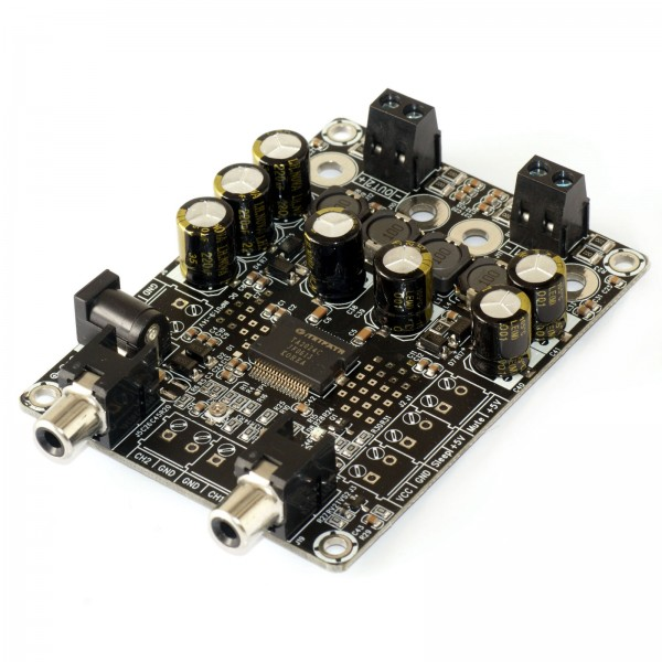 sure electronics 39 webstore 2 x 15 watt 4 ohm class d audio amplifier board ta2024. Black Bedroom Furniture Sets. Home Design Ideas