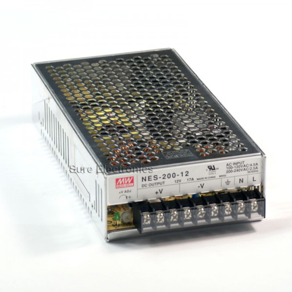 SP-200-48 48V@4.2A AC//DC Power Supply 201.6W 1 Output