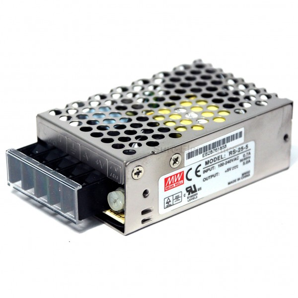 Sure Electronics\' webstore Mean Well RS-25-5 AC/DC Single Output ...