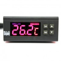 WH9048A 24V Digital Temperature Temp Controller Thermostat + Sensor -50℃~110℃
