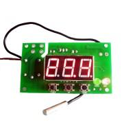 WH7016A 5A/220V Digital Temperature Temp Controller Thermostat + Sensor -50~110℃