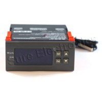 WH7016S 220V Digital Temperature Temp Controller Thermostat + Sensor -9.9℃~99.9℃