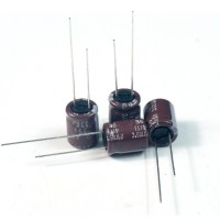 200pcs NCC Nippon CHEMI-CON DIP Aluminum Electrolytic Capacitors 220uF/35V Φ10x12.5mm caps