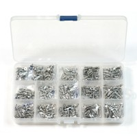Imperial 4#-40 Stainless Steel Screws Kit 16 kinds Length 1/4 5/16 3/8 1/2