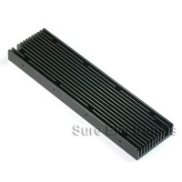 8.6x2.3inch Aluminum Alloy Heat Sink for 1W/3W/5W/10W/20W LED Black