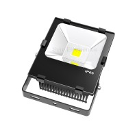 Flood light w heatsink for green led lighting 50W 30V 1500mA 282*220*113mm black