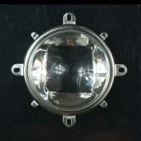 57mm Lens Reflector w Base For 10-100W LED Lamp