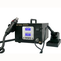 ATTEN AT-8502D Pro Hot Air Rework + Iron Soldering  220V ESD