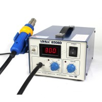 8508D Hot Air Gun Rework Soldering Repair Station 110V SMD ESD PLCC BGA Nozzles