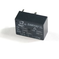 SANYOU SPA-S-112DM 15A 125VAC, 12VDC Coil Power Relay