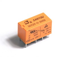 SANYOU DSY2Y-S-205D 1A 120VAC, 5VDC Coil Singal Relay