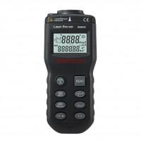 MASTECH MS6450 Ultrasonic Tape Measure Distance Meter Laser Pointer Measurer