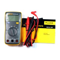 FLUKE 106 F106 Palm-sized Digital Meter Multimeter Smaller Than F15B Data Hold