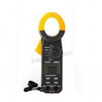 VICHY DM201 Digital LCD Auto Range Voltmeter Resistance Clamp Multimeter DMM