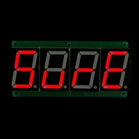 1.5 inch 4 digit 7-segment Red Display Board