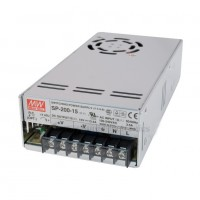 MeanWell MW SP-200-15 MW Power Supply 15V 13.4A 201W Watt 199x99x50mm AC85~264V